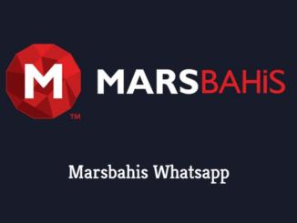 Marsbahis Whatsapp